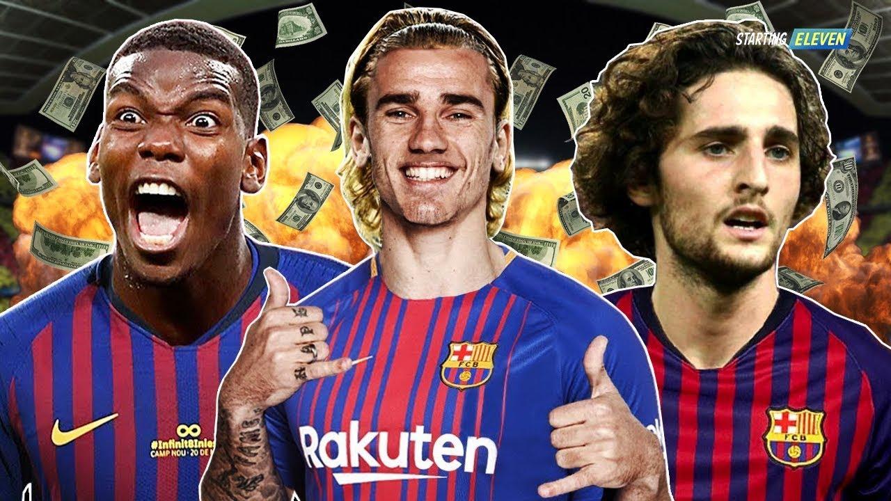 Pemain Incaran Barcelona Di Bursa Transfer Januari  Rumor