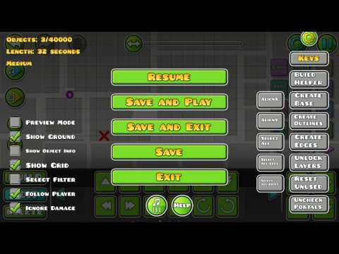 How to use triggers in editor mode - Geometry Dash [2.1] - Maks231 GD