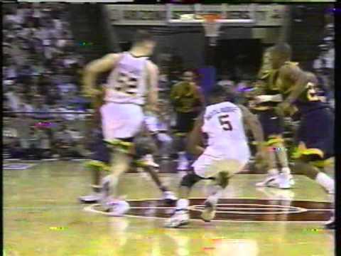 1996 NCAA Tournament - George Washington versus Iowa (Part 8)