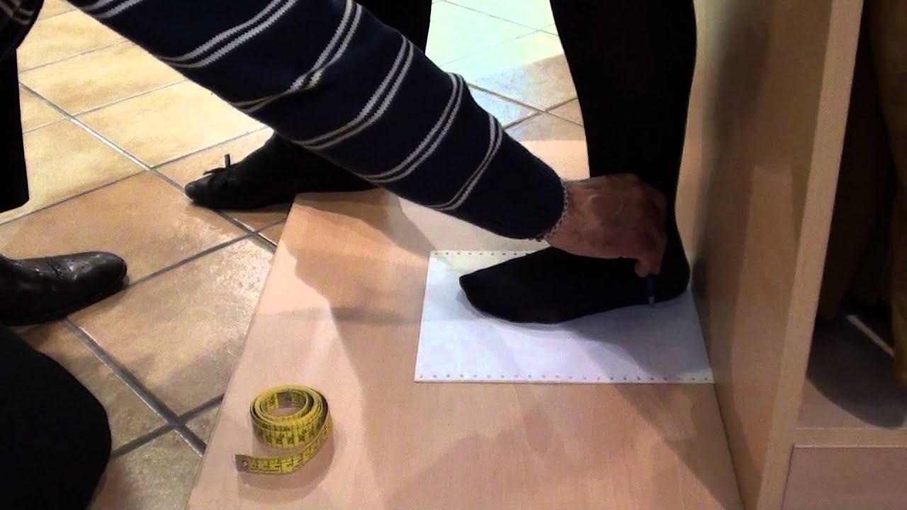 Como tomar correctamente la medida del pie para saber la talla de zapato de baile