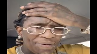 Young Thug Clowns YFN Lucci Spending $15 Only On His Stripper Friends