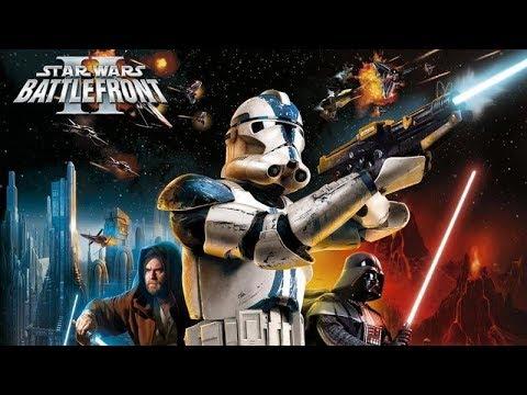 Star Wars Battlefront 2 Classic Game test |