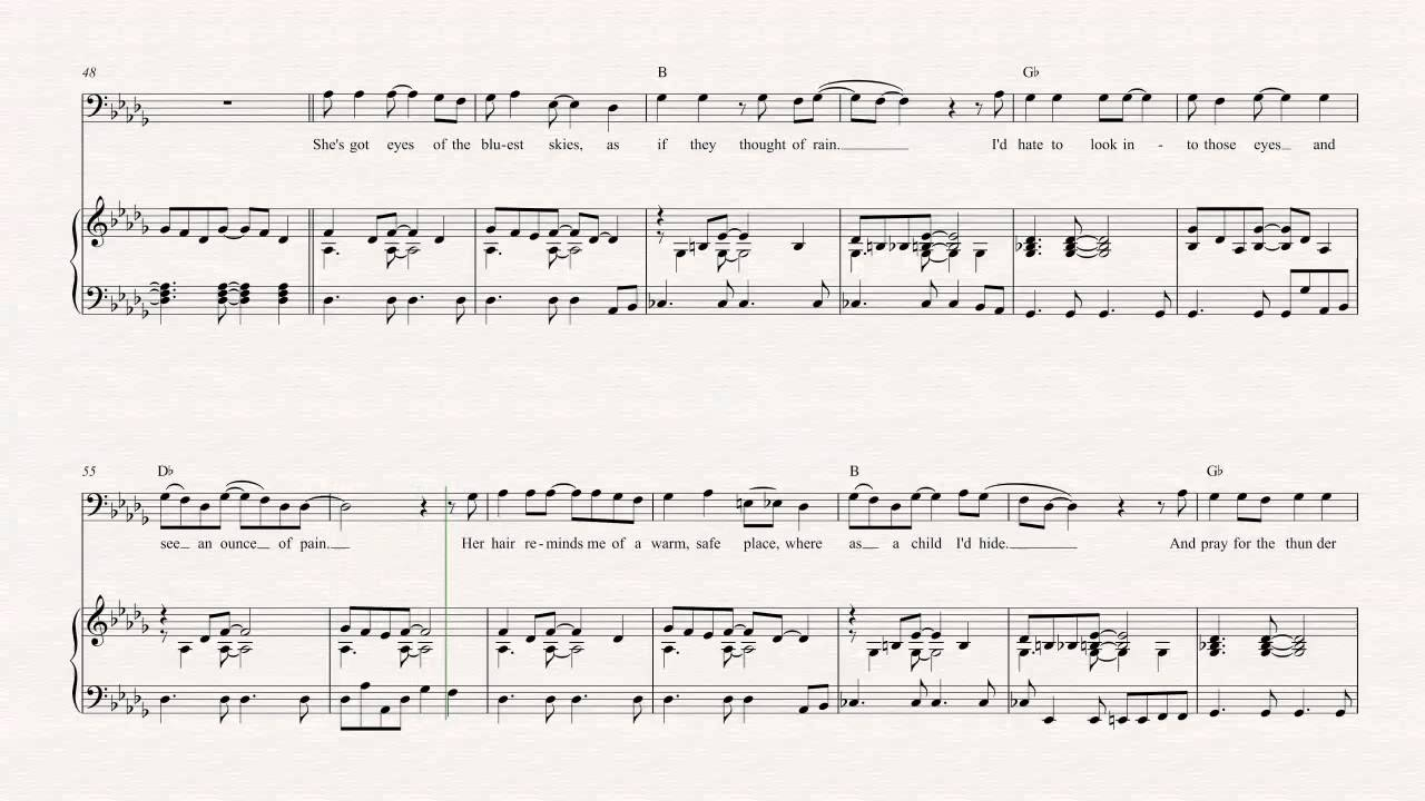 Bass Sweet Child O Mine Guns N Roses Sheet Music Chords