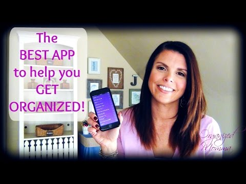 Best Organization App! How To Get Organized!! To Do, Shopping, & Tasks!!