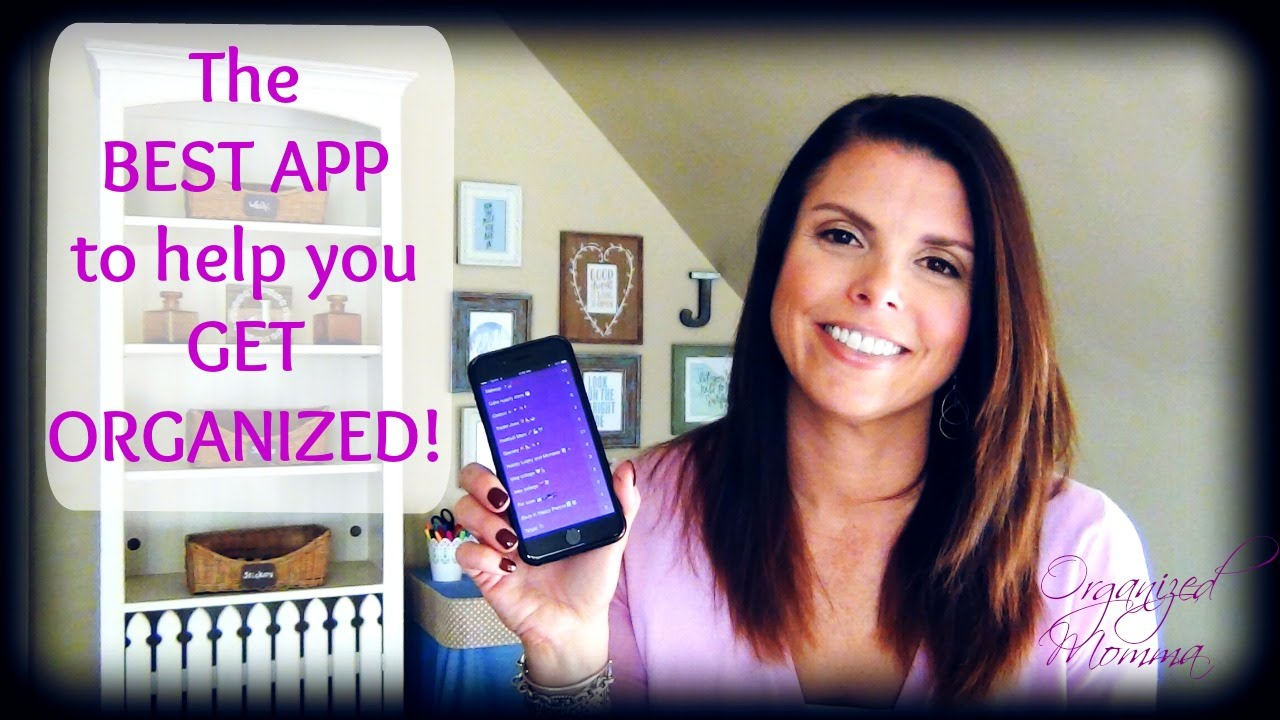 best organization app! how to get organized!! to do, shopping