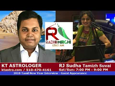 KT Astrologer Interview Guest Appearance by RJ Sudha Tamizh Suvai @ Radio Mirchi 1310