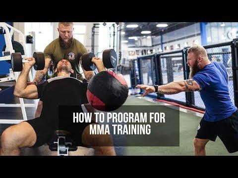 How I Program For Elite MMA Training