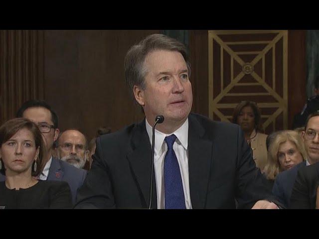 Brett Kavanaugh's opening statement at Senate hearing #1