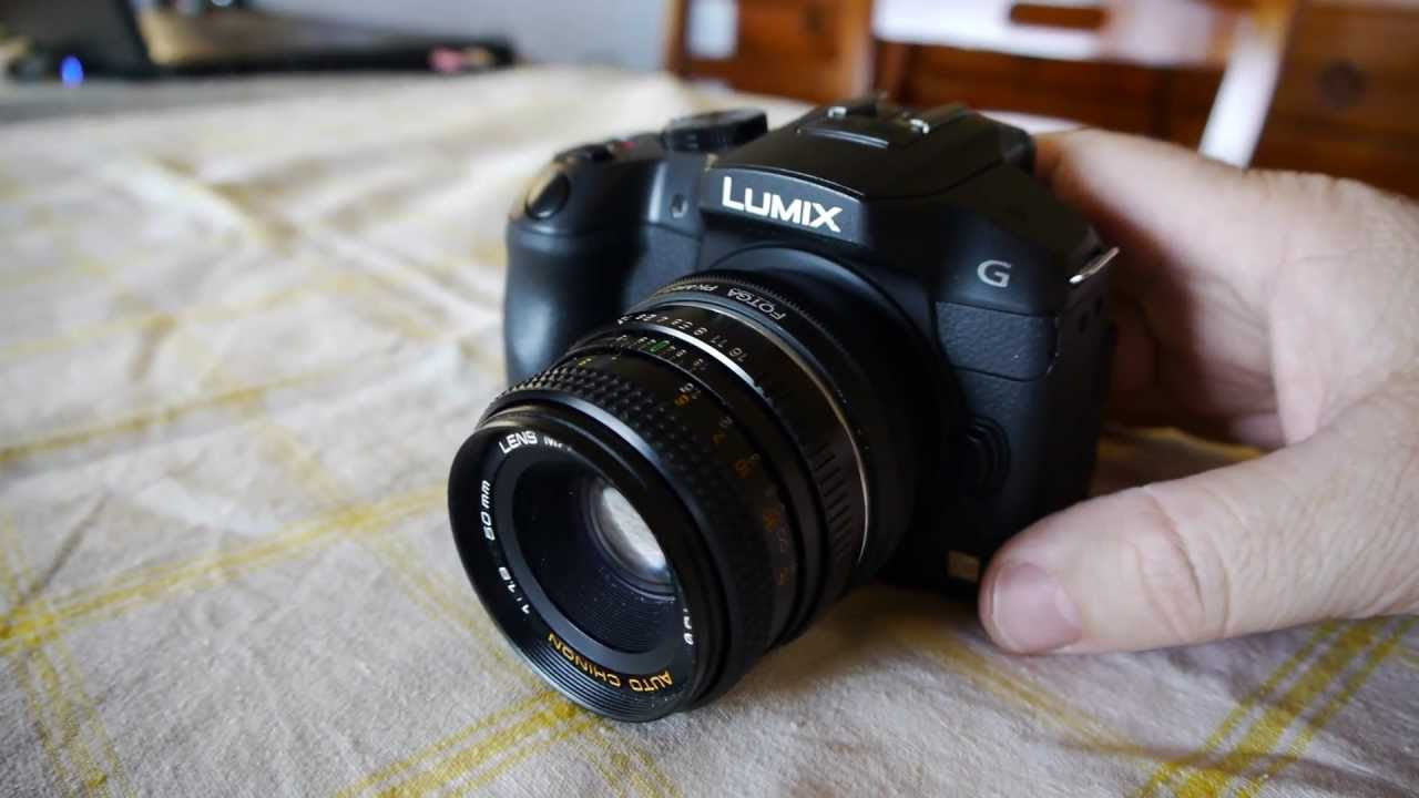 panasonic g6 manual focus how to setup shoot without lens youtube rh youtube com Lumix Ve Sony A6000 Lumix GX7