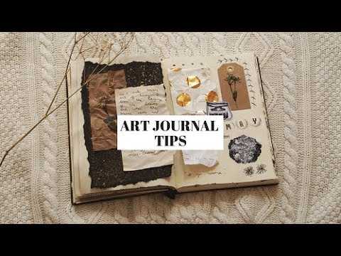 7 art journal tips 🎨 (how to get inspiration)