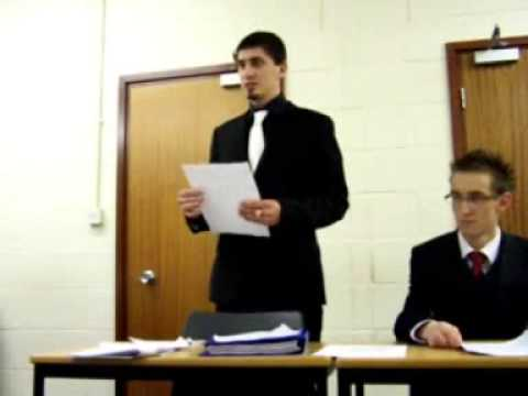 Bradford Uni Law Soc Presents; HOW TO MOOT