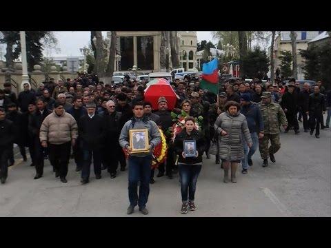 Funerals held for Azeri servicemen killed in fighting