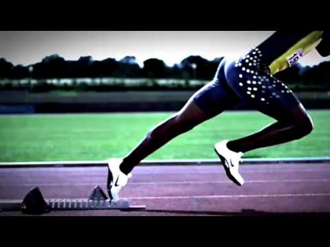Slow Motion Sprint ( Asafa Powell , Usain bolt )