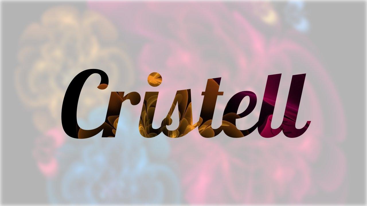 Significado De Cristell Nombre Griego Para Tu Bebe Ni O O