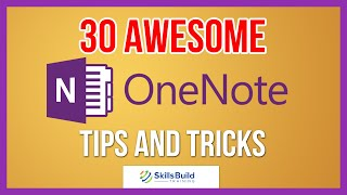 30 Awesome Microsoft OneΝote Tips and Tricks