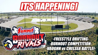 "Introducing The Freedom Factory's ""BURNOUT RIVALS"" Pay Per View Event! (with Vaughn Gittin Jr.!!)"