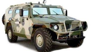 Отечественный внедорожник ГАЗ 2330 «Тигр»(ГАЗ-2330 «Тигр» — российский многоцелевой автомобиль повышенной проходимости, бронеавтомобиль, армейский..., 2014-07-25T11:10:22.000Z)