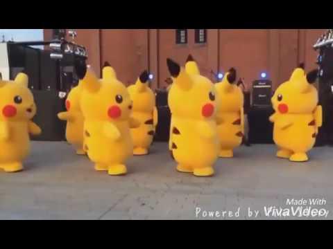 JUJU ON THAT BEAT (pikachu dance)