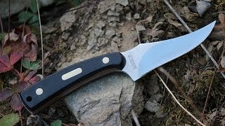 Legendary Old Timer 152OT Sharpfinger Knife -- Best Hunting/Survival Fixed Blade Knife