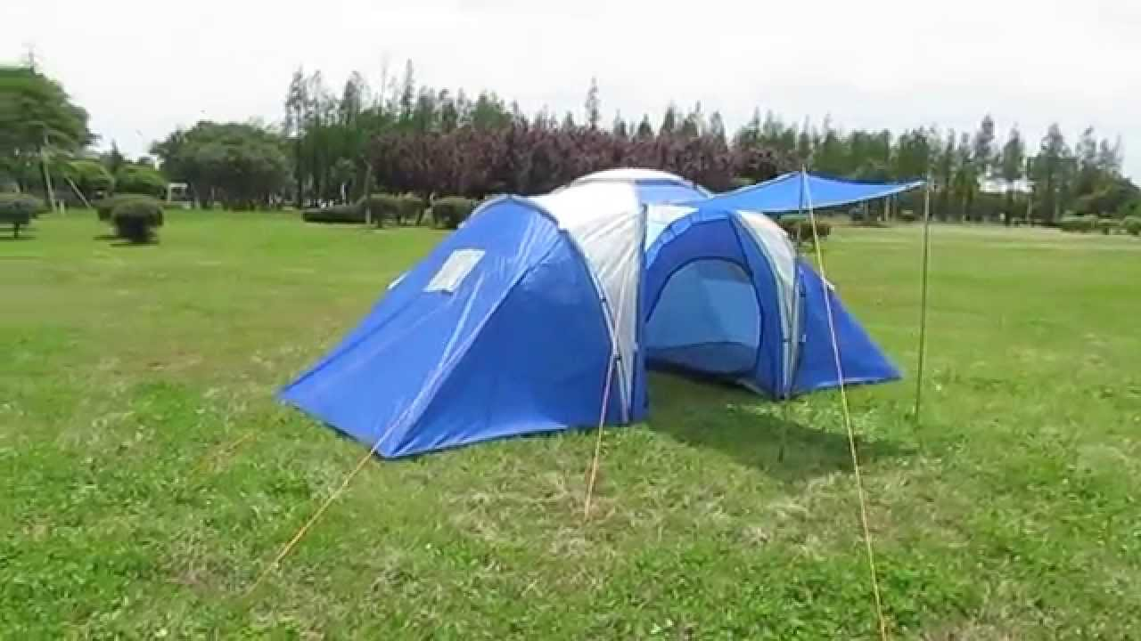 Ozark Trail 9 Person 2 Room Instant Cabin Tent With Screen & Ozark Trail 6 Person 2 Room Tent - Best Tent 2018