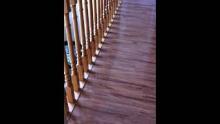 Laminate / Floating Floor Installation With Sill Plate / Stairs