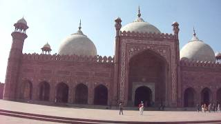 Azan Zuhr at Badshahi Masjid, LAHORE, Pakistan on 14 Feb 2012
