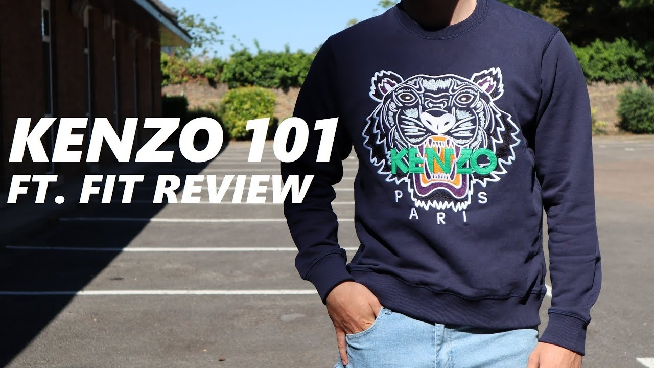 3e07888c121 Kenzo 101  Kenzo Sweatshirt Fit Review   Unboxing - YouTube