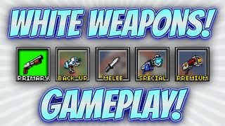 Pixel Gun 3D - White Weapon Gameplay!