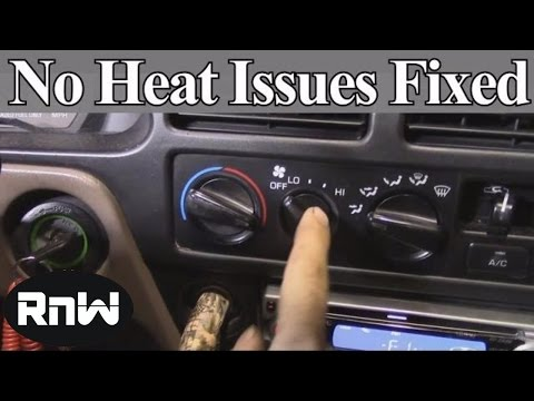 How to Diagnose and Fix No Heat Issues - Also a Demonstration on How Car Heating Systems Work