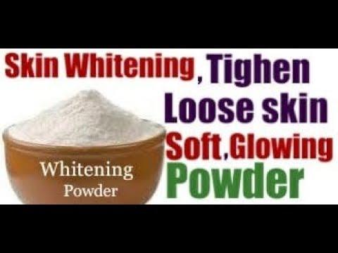 Tighten Loose Skin 100% Result/ Shocking Secret Miracle Powder For Whitening, Fair & Glowing Skin
