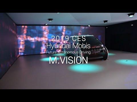 [HMG TV] Hyundai Mobis Future Autonomous Driving M.VISION | 2019 CES