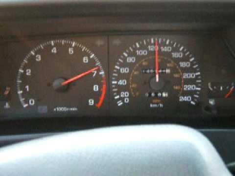 Toyota Corolla GT-S ( Trueno ) AE92 inside run - YouTube