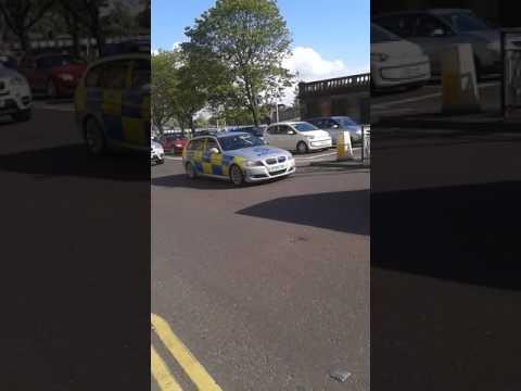Police Escort from Glasgow High Court