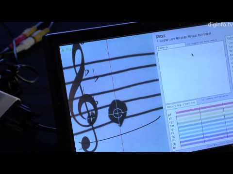 Write and play your own sheet music with the Gocen #ipnexus