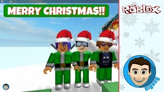 Merry Christmas Peoplez! It's a Roblox Christmas Wish! Happy Holidays!