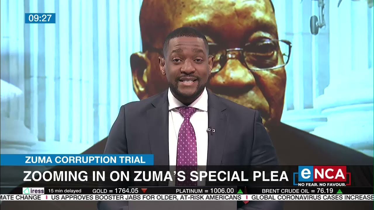 Discussion: Zooming in on Zuma's special plea - eNCA