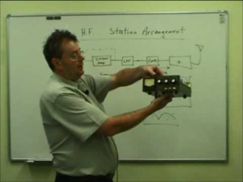 NZART 15 HF Station Arrangement and Modulation
