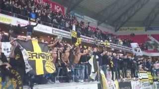 AIK:s spelare tackar klacken i Kalmar