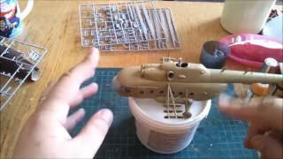 вертолет Ми-8мт (ZVEZDA) scale 172   шаг 1(в этом видео - сборка и базовая окраска., 2016-07-09T17:40:43.000Z)