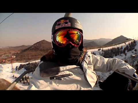 Shaun White in China - Oakley Air & Style Beijing 2010