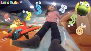 라임이의 뽀로로 테마파크에 가다! 1편 재미있는 장난감 숫자 배우기 1-6 LimeTube & Toy 라임튜브