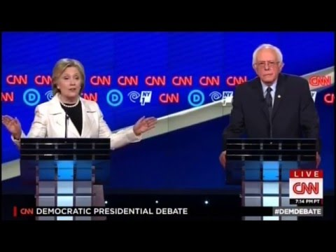 Hillary and Bernie Debate the No-Fly Zone in Syria