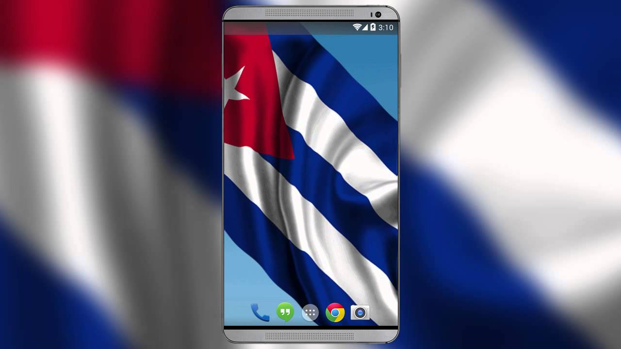 Cuban Flag Live Wallpaper