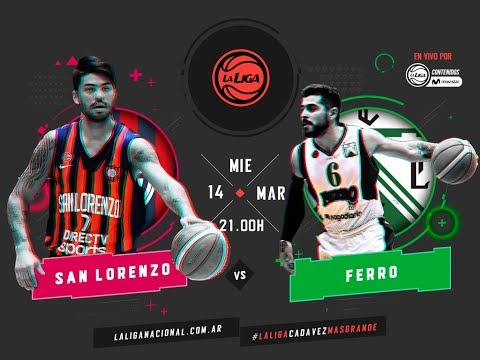 Liga Nacional: San Lorenzo vs. Ferro | #LaLigaEnTyCSports