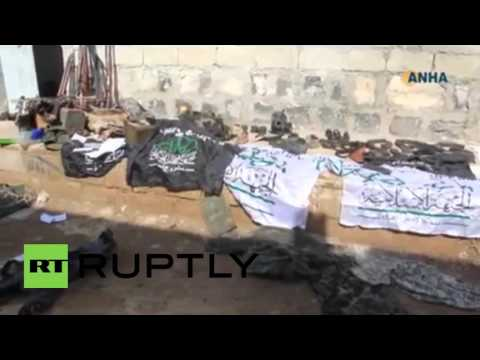 Syria: Kurdish fighters capture Menagh airbase from militants - SOHR reports