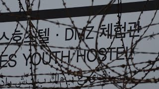 On the Korean border, a US base-turned-tourist attraction