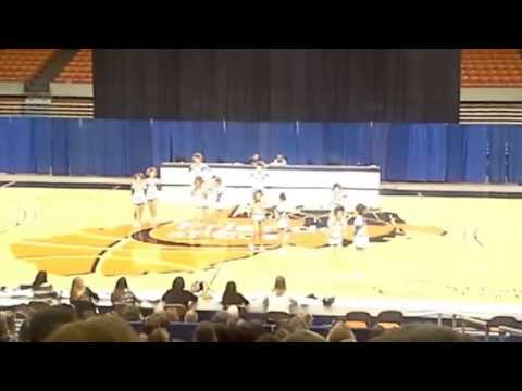 Tyler Consolidated High School WVSSAC A State Cheer 2014