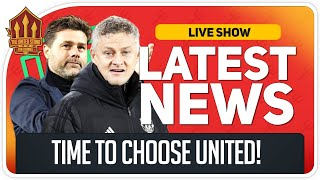 Solskjaer or Pochettino? Man Utd News Now