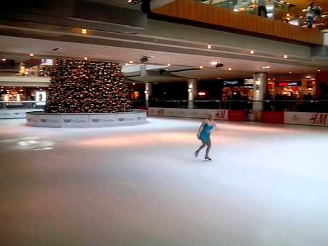 Beautiful Ice skating Galleria, Houston