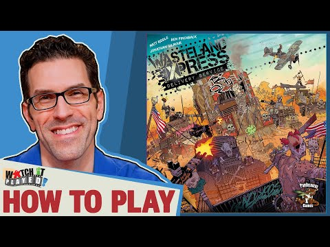 Wasteland Express Dery Service  How To Play